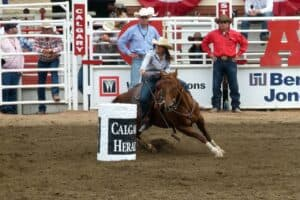 Athletic Therapists treat rodeo athletes as members of the Canadian Pro Rodeo Sport Medicine Team